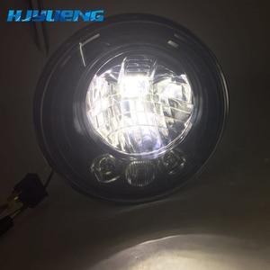 Image 2 - 2pcs Per Wrangler JK 2 Porta 2 Hummer H1 H2 7 pollici Fari A LED Per Lada 4x4 urbano Niva 2007 ~ 2016 Per Suzuki Samurai
