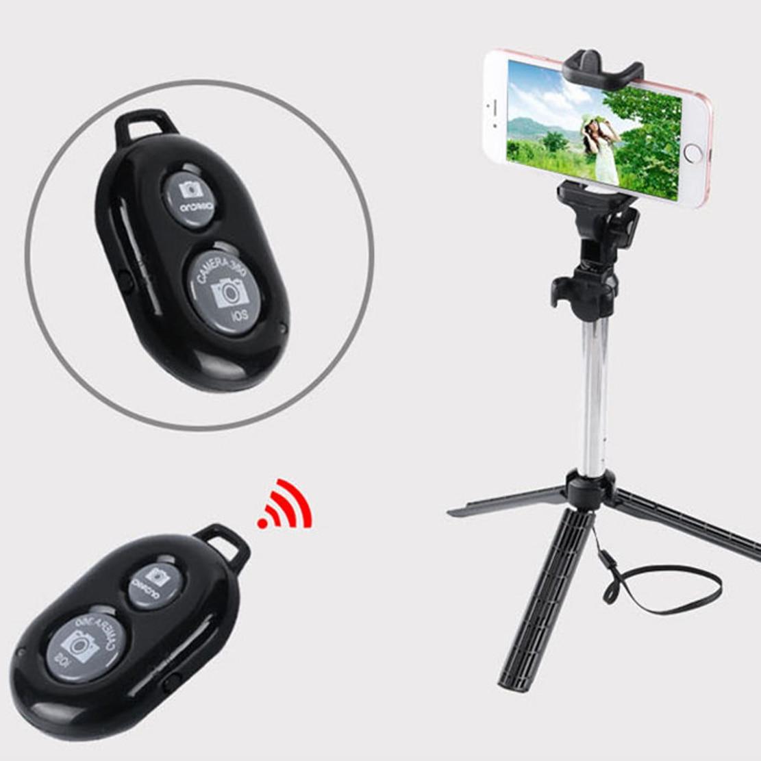 Bluetooth Remote Control Tripod Monopod Selfie Stick Shutter for iPhone Redmi Lenovo Sony ZTE ASUS Wiko Blu Moto Meizu X 8 7 6 5