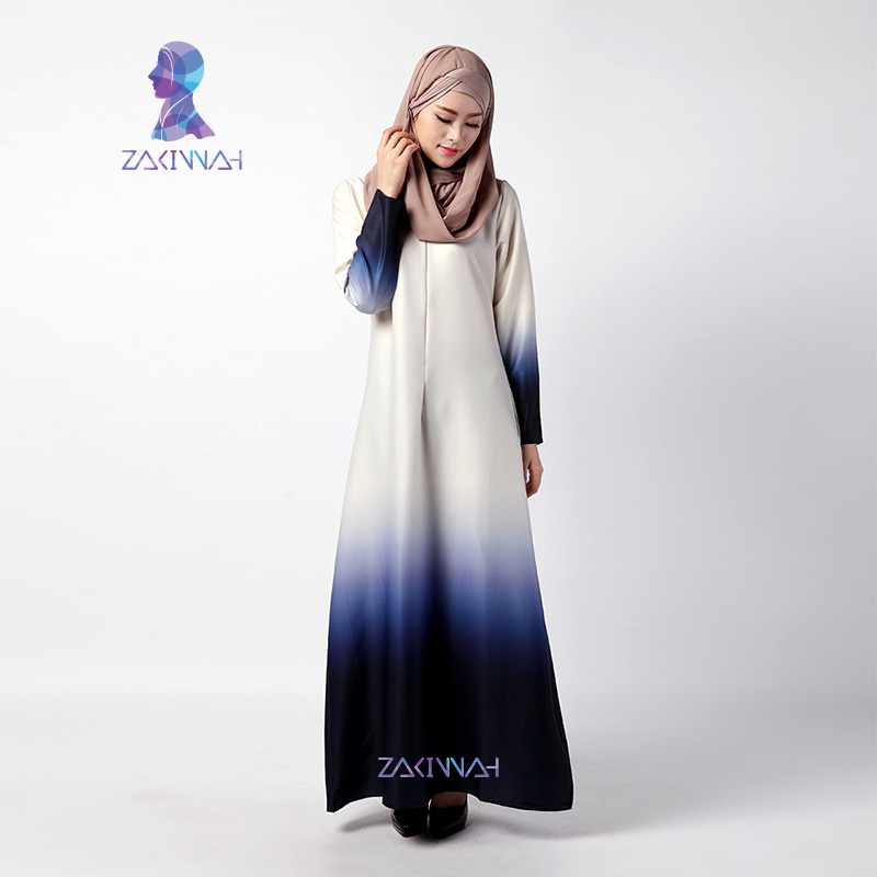 035 2016 Top Fashion Muslim Abaya Islamic Clothing For Women Hot Sale Muslim Dress Long Sleeve