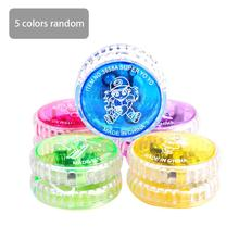 Children Hot YoYo Ball Luminous LED Flashing Yo Child Clutch Mechanism Yo-Yo Toys for Kids Classic Toy Random Color