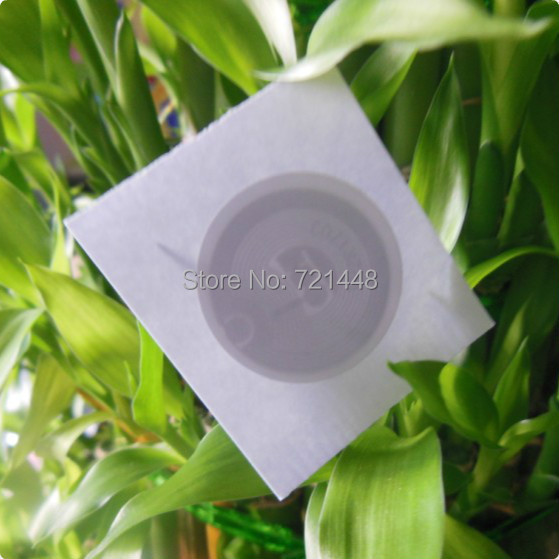 100pcs NFC Forum Type 2 Tag NTAG216 Adhesive Labels  All NFC  Phone Available NFC stickers