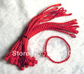 Free Shipping ~ New Fashion Hand Braided Lucky China Red Silk String Rope Cord Bracelet Wholesale