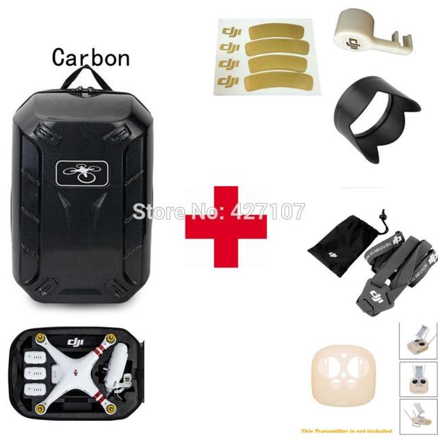 Бесплатная Доставка Hardshell Сумка + Передатчик Крышка + Шея + Бленда + Крышка Для DJI Phantom 4 Pro С Помощью EMS