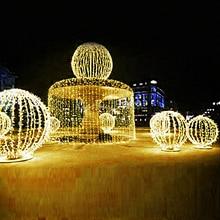 Festival Led String Licht 10 M 20 M 30 M 50 M 100 M Waterdichte Strip 100-800 Leds Voor Kerstfeest Bruiloft Tuin Vierkante Vakantie MH
