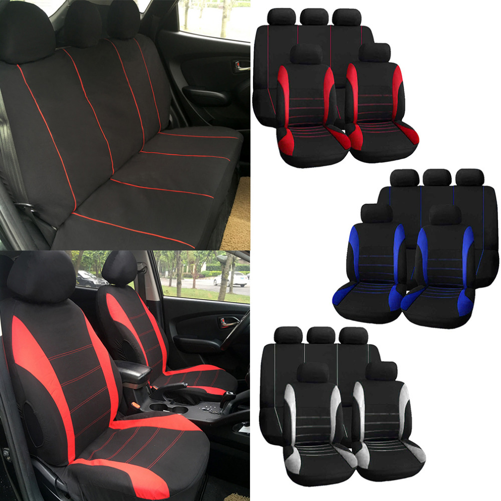 1 Sets Vehicle Cover Universal Car Seat Covers Complete Seat Crossover Automobile Interior font b Accessories
