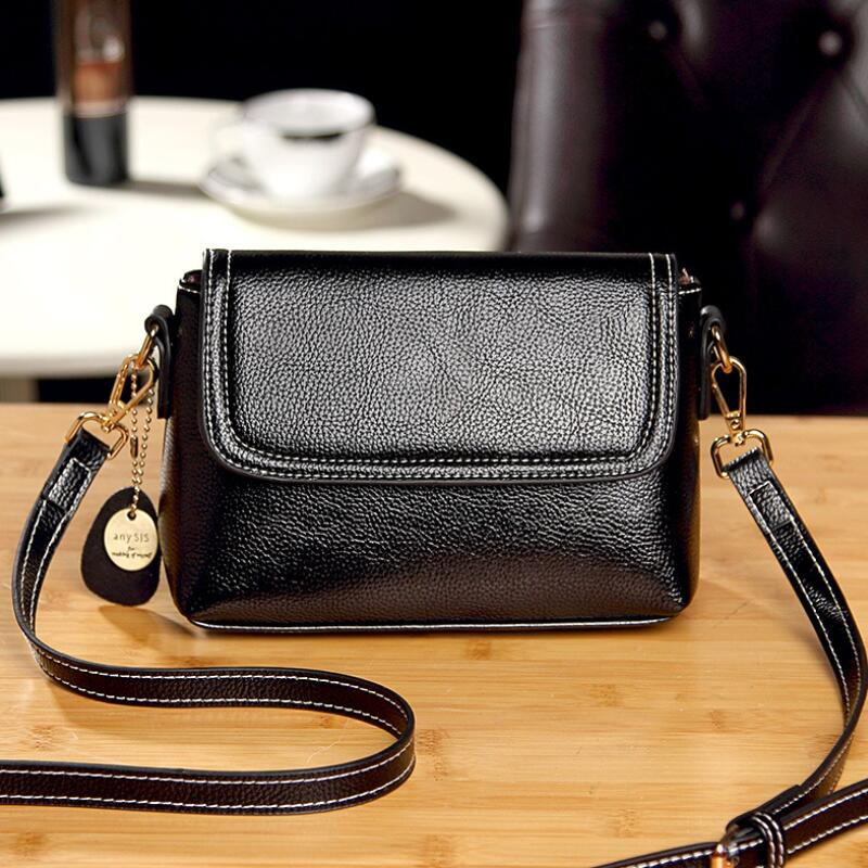 WEIXIER Fashion Women Genuine Leather Small Flap Shoulder Bags Brand Designer Female Evening Party Clutch Bags NS-56 4