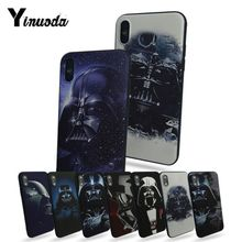 Yinuoda Darth Vader Star Wars мягкий резиновый черный чехол для телефона iphone 7 7plus X XS XR XSMax 8 5 5S 6s 6s Plus Чехол для мобильного телефона
