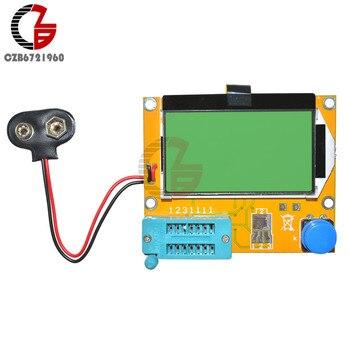 Mega328 M328 LCR-T4 12864 LCD Digital Transistor Tester Meter Backlight Diode Triode Capacitance ESR Meter MOS/PNP/NPN L/C/R