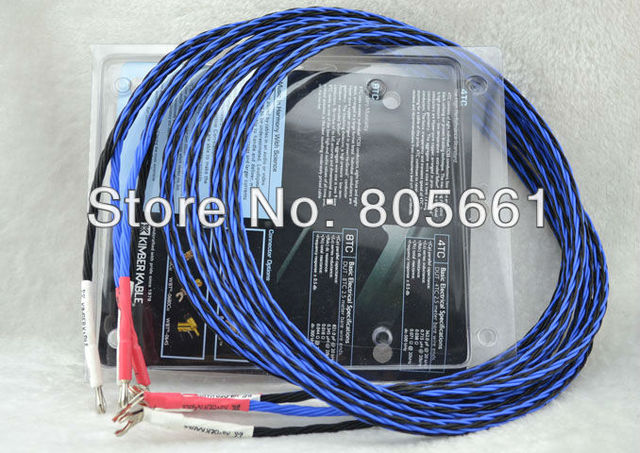 kimber kable 8tc speaker cable single blue cable with original box rh aliexpress com kimber cable speaker wire tested kimber cable speaker wire
