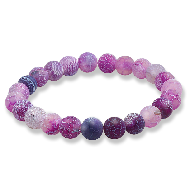 8mm Natural Stone Bracelets For Women Handmade Colorful Beads Chakra Yoga Bangle Jewelry Gift Accessories Charm Bracelet Female Sale Overall Discount 50-70%