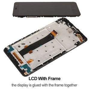 Image 4 - Ecran pour Xiaomi Redmi Note 3 Pro ecran LCD avec cadre touche souple rétro éclairage ecran tactile pour Xiaomi Redmi Note 3 150mm Edition
