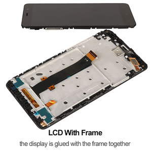 Image 4 - Screen For Xiaomi Redmi Note 3 Pro LCD Display With Frame Soft Key Backlight Touch Screen For Xiaomi Redmi Note 3 150mm Edition