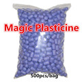 500pcs purple Starch Miou Kids 3D diy Building Blocks Magic Corn Plasticine Children Child kids Toy kernels Xmas free shipping