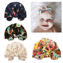 New High Quality Fashion Boy Girl Turban Cotton Cute New born Kids Beanie Hat Winter Warm Cap #3(China)