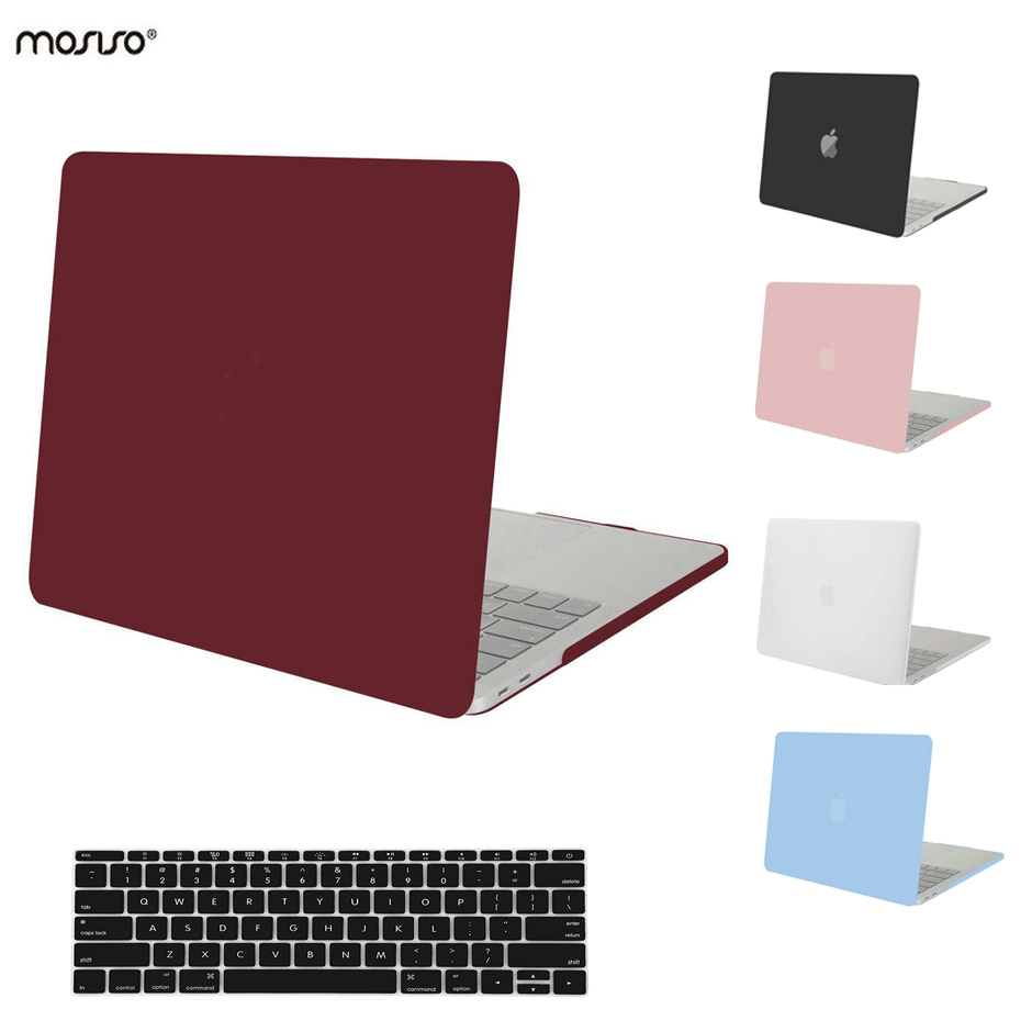 mosiso matte hard case cover for macbook pro 15 pro 13 inch touch bar id pad 2016 a1707 a1706. Black Bedroom Furniture Sets. Home Design Ideas