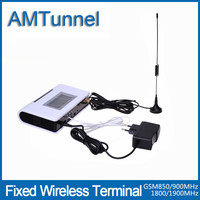 GSM FWT 850 900 1800 1900MHz Quad Band Fixed Wireless Terminal With LCD Display For Connecting