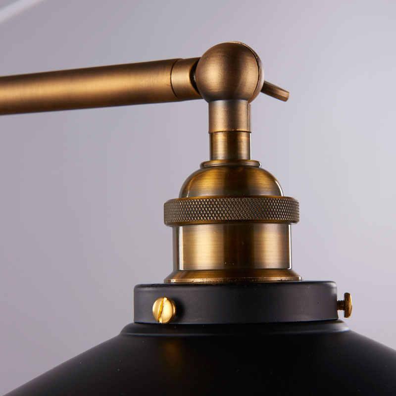 Американский Ретро настенный светильник промышленное настенное бра в стиле лофт для гостиной зеркальный Декор Lamparas Luminaria BLW048