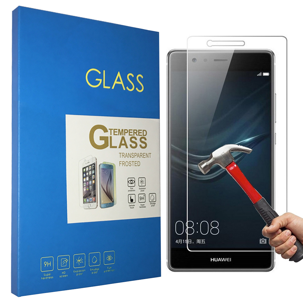 10 Pcs For Huawei P9 Tempered glass Screen Protector 2.5 9h Safety Protective Film on P9 Plus Premium Standard Dual Sim Eva L19