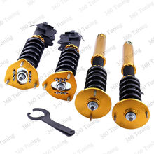 Coilover Shock Absorbers for Nissan S14 200SX 240SX Silva 1994-1998 Rear Front Suspension Spring Shocks Strut 24 step Adjustable