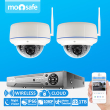 2CH 1080P HD 1920*1080 Wi-fi Video Safety H.264 Onvif Digicam Package System With 2TB HDD Dwelling Surveillance System