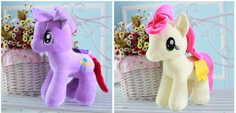 Plush Animal Unicorn Horse Stuffed Animals Toys Baby Infant Girls Toys Birthday Gift Rainbow licorne8