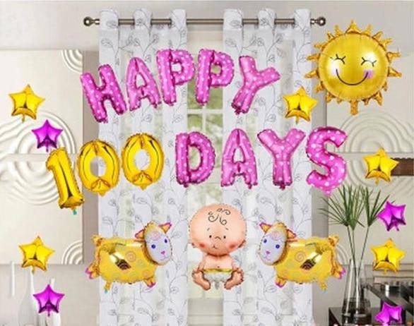 32inch Gold Silver Number foil balloons balon udara digital Happy - Barang-barang untuk cuti dan pihak - Foto 5