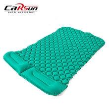 Кемпинг автомобиль кровать коврики надувной матрас автомобиля подушки двойной спальный мешок матрас Colchon Inflable Para Авто Кровать для автомобиля