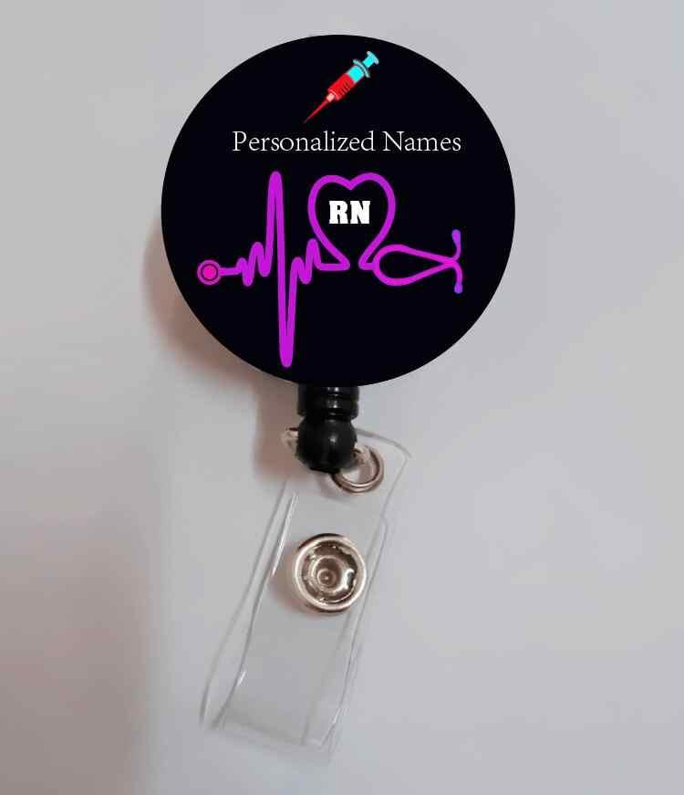 CNM Certified Nurse Midwife Cute Babies~ Retractable Reel ID Badge Holder