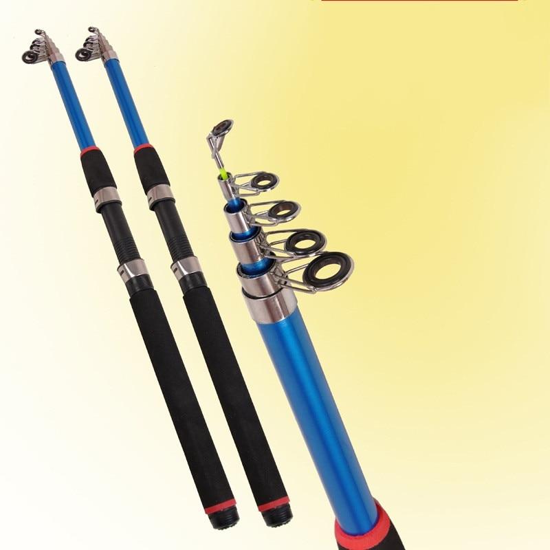 1x Exclusive Carbon  fiber Telescopic Sea fishing rod 2.1//2.4//2.7//3.0//3.6 m New