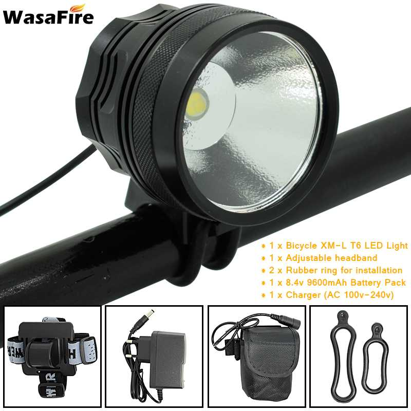WasaFire XHP70 Bicycle Lamp Cycling farol bike Light fietsverlichting Frontlight Camping Headlight bicycle led luz bicicleta все цены
