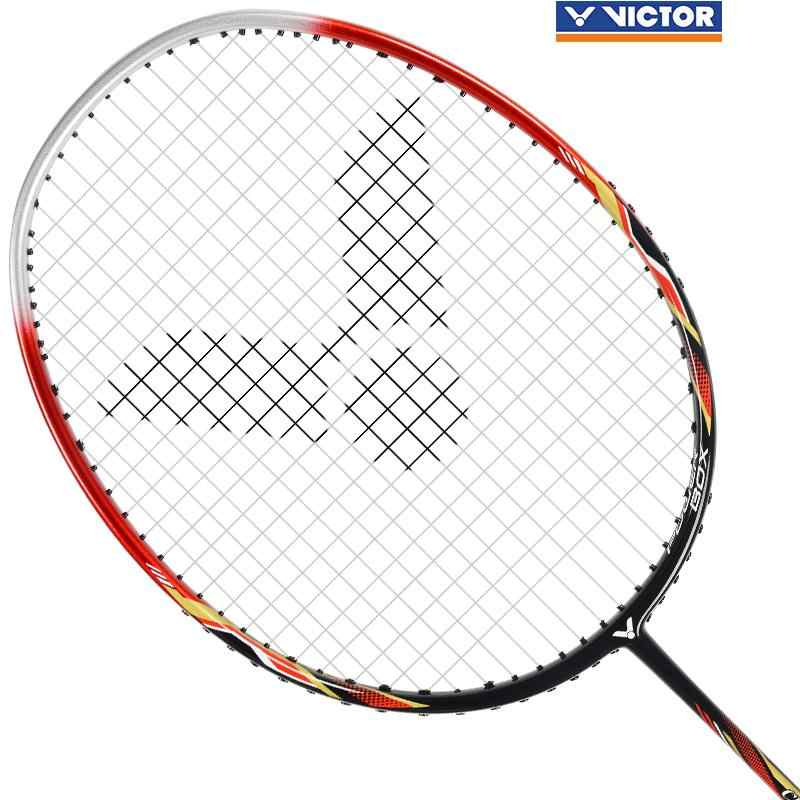 Original Victor CHA 9500D Carbon Fiber Badminton Racquets Badminton Racket With String offensive