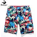 PALAGER Summer Men Beach Board Shorts sea Casual print Swimwear 1472#