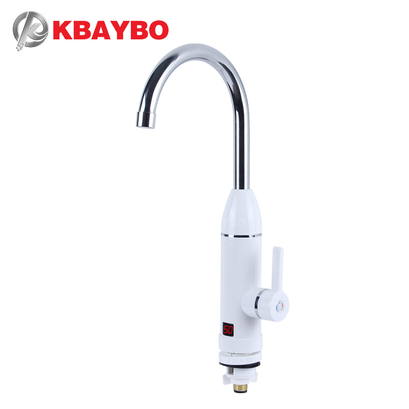 KBAYBO Instant Hot Water Faucet Heater Cold Heating Faucet Tankless Instantaneous Water Heater Electric Kitchen Water Heater TapKBAYBO Instant Hot Water Faucet Heater Cold Heating Faucet Tankless Instantaneous Water Heater Electric Kitchen Water Heater Tap
