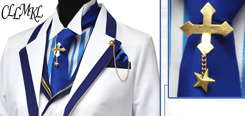 Image 4 - Fate Grand Orde  FGO Saber King Arthur Cosplay Costume Outfit Pendragon White Rose King of Knights Cosplay-in Anime Costumes from Novelty & Special Use