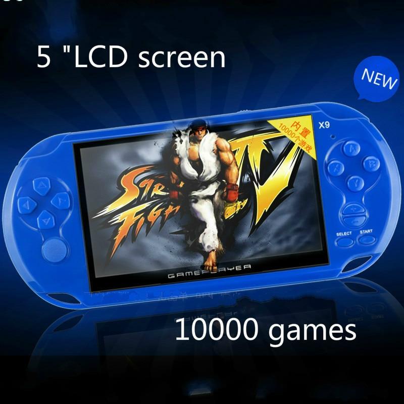 Cdragon כף יד קונסולת המשחקים X9 5 אינץ 'מסך - משחקים ואביזרים