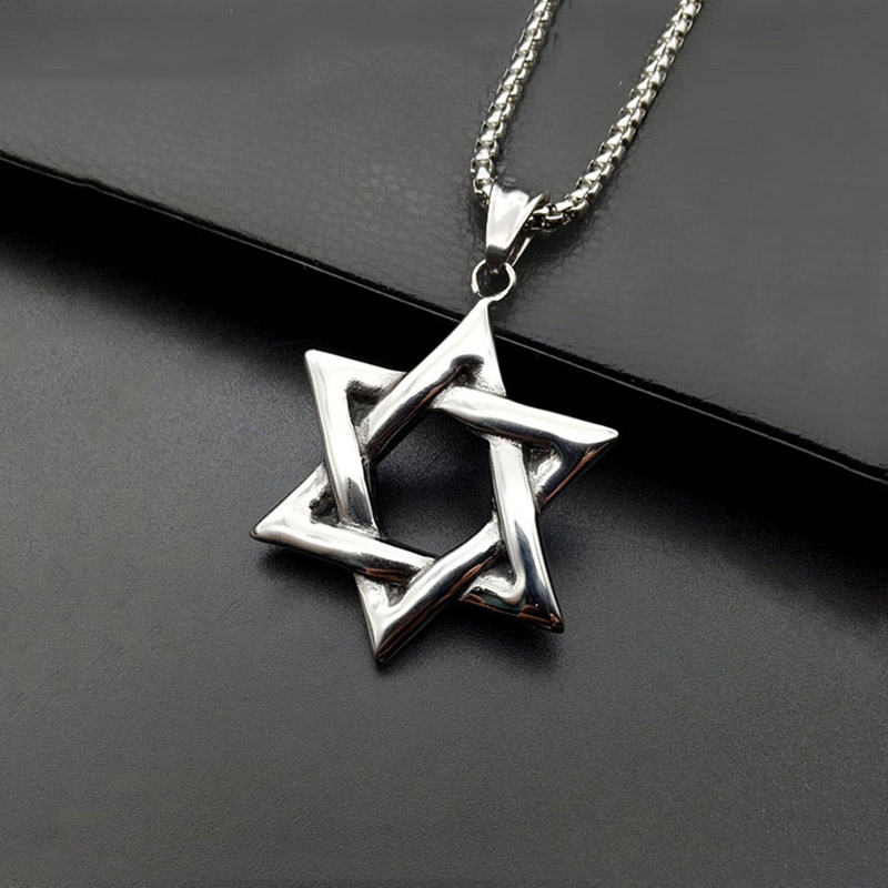 CS-DB Pendants Necklaces Silver Girls Hand of Fatima Gold Color Jewelry