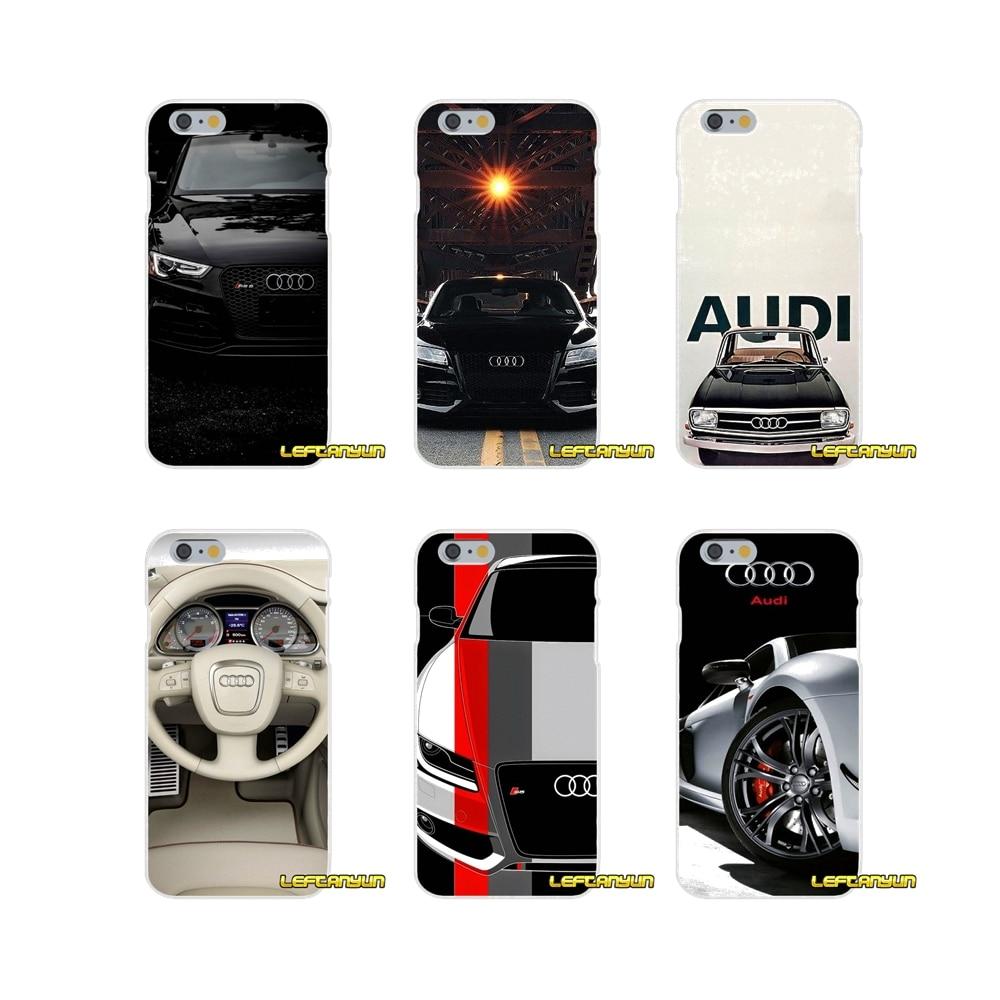 For Motorola Moto G LG Spirit G2 G3 Mini G4 G5 K4 K7 K8 K10 V10 V20 Edge For slim Audi Car RS Logo Silicone Soft Phone Case