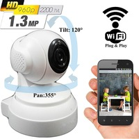 Wireless WiFi Security Camera System 1 3MP 960P HD Pan Tilt IP Network Surveillance Webcam Baby