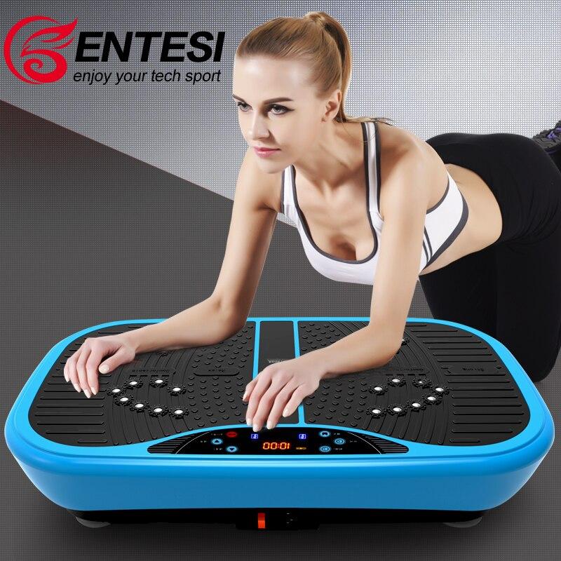 <font><b>Vibration</b></font> Exercise Machine Vibrating <font><b>Plate</b></font> For Weight Loss Mini Power Fit Massage Body Slimming Fitness Device