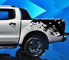 mudslinger ranger wildtrack body rear tail side graphic vinyl for Ford 2012 -2017