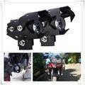 オートバイモトクロスヘッドライト LED フォグランプが点灯スポットライトヘッドライト cnc スズキ FJ-FV GN72A Kawasaki Z750R ZX10R ZX6R