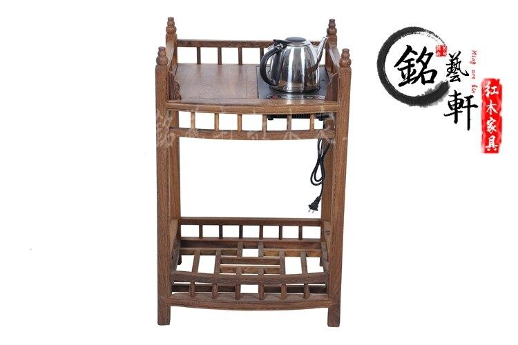 Coffee wenge wood furniture, Ming and Qing classical mahogany tea table tea table tea table tea tables Cooker pu er raw green tea 2006 six famous tea mountain yiwuyeshengchabeeng cake bing unfermented qing sheng cha 357g