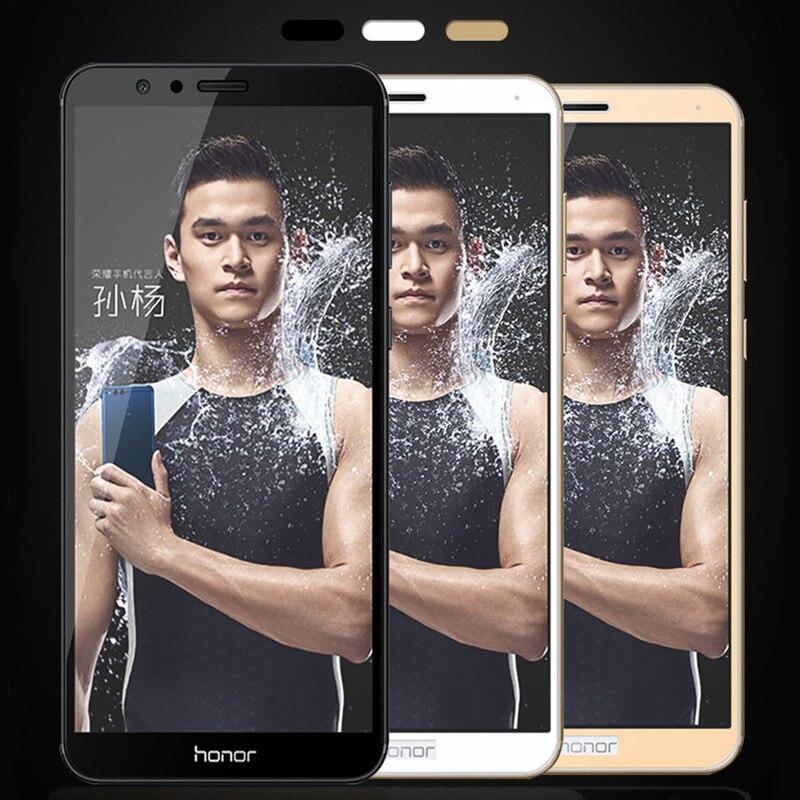 2.5D 9 H для Huawei Honor 7X полный стакан Honor 7X Защита экрана для Huawei Honor 7X играть закаленное стекло гвардии Flim золото 5.93