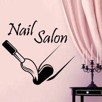 Nail Bar Polish Wall Art Picture Sticker Hair Beauty Salon Varnish Collage