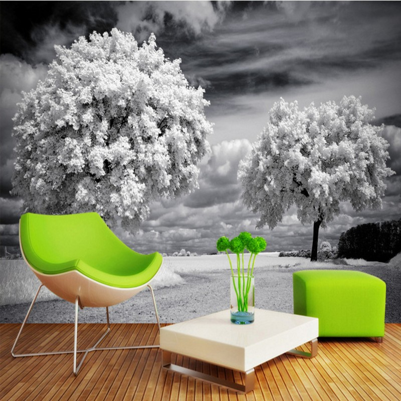 Free Shipping Artistic trees TV background wall painting home decoration wallpaper mural living room bathroom bedroom  free shipping retro female star mural background wall bathroom studio home decoration artistic studio bedroom wallpaper