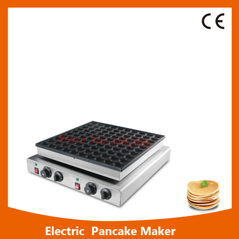 commercial single head automatic electric Dutch 50 Holes pancake maker Poffertjes grill Machine for snack food equipment fast food leisure fast food equipment stainless steel gas fryer 3l spanish churro maker machine