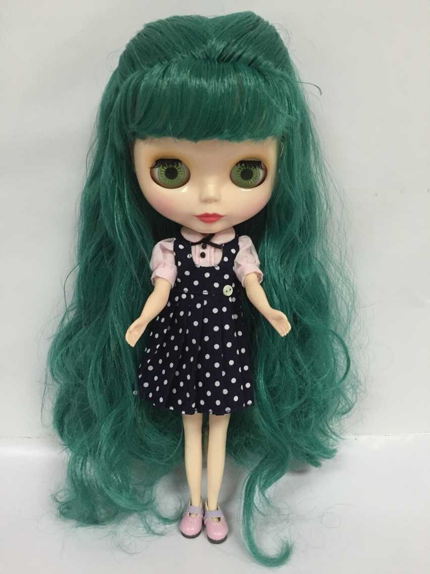 Nude Blyth Doll Green Hair Factory Doll Suitable For Diy For Girls 07 25-In Dolls From -4598