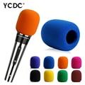 + Cheap Sale+Free Shipping + Rose Handheld Stage wireless microphone Windscreen Foam Mic Cover Case Karaoke DJ Sales