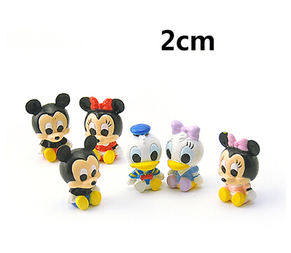 cute mickey minnie donald duck baby cartoon mouse and friends action