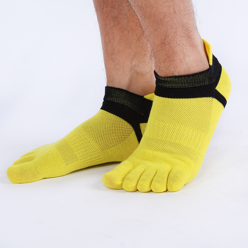 Lot Men Short Summer Casual Socks Cotton Toe Socks Wuzhi Socks Stable Supply Manufacturers Selling Male Socks Meias Men's Socks Confident 1 Pairs